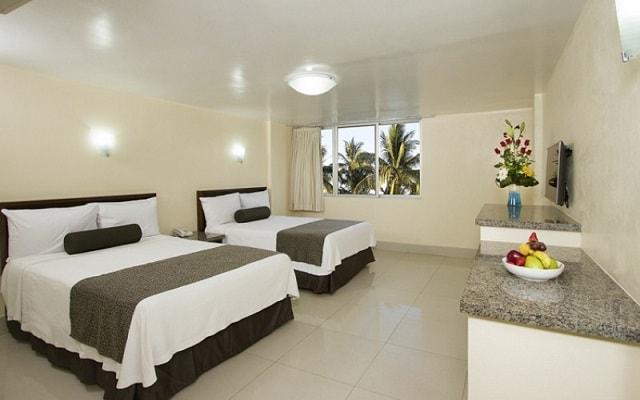 Hotel Don Pelayo Pacific Beach, amplias y luminosas habitaciones
