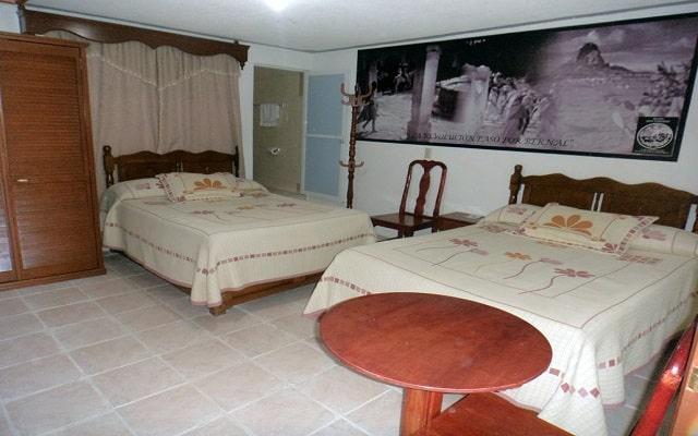 Hotel Don Porfirio, amplias y luminosas habitaciones