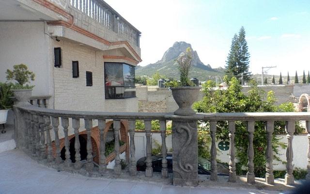 Hotel Don Porfirio, terraza