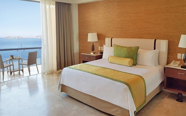 Hotel Dreams Acapulco Resort & Spa, habitaciones con todas las amenidades