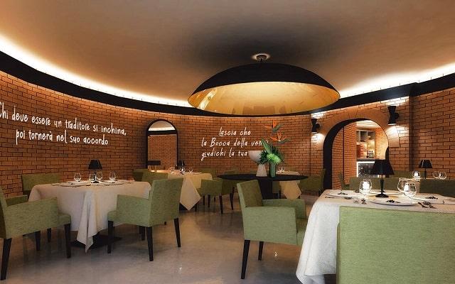 Hotel Dreams Acapulco Resort & Spa, buen gastronomía