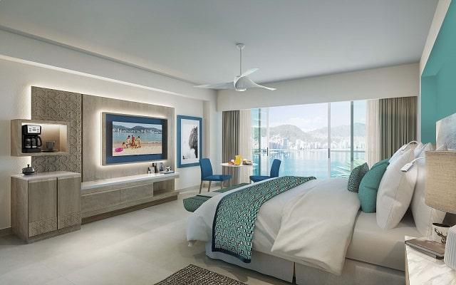 Hotel Dreams Acapulco Resort & Spa, habitaciones bien equipadas