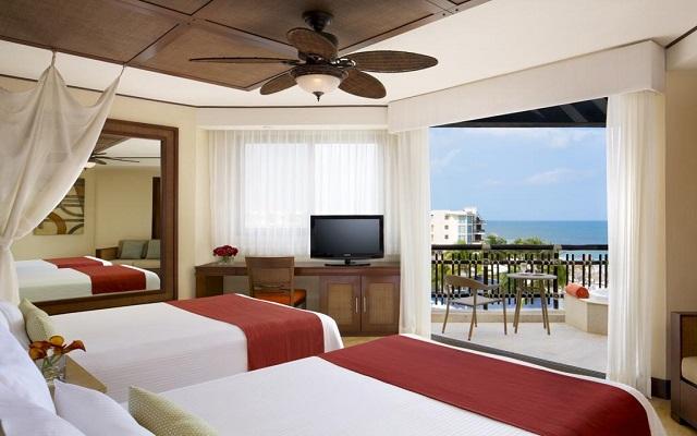 Hotel Dreams Riviera Cancún Resort and Spa, habitaciones con todas las amenidades