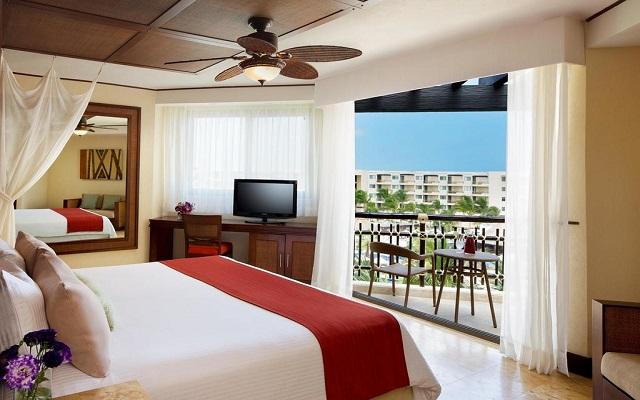 Hotel Dreams Riviera Cancún Resort and Spa, amplias y luminosas habitaciones