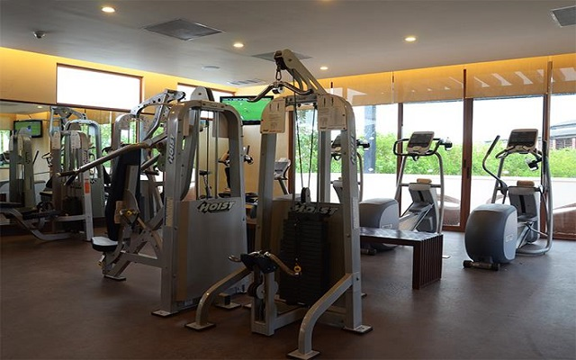 Hotel Dreams Riviera Cancún Resort and Spa, gimnasio bien equipado