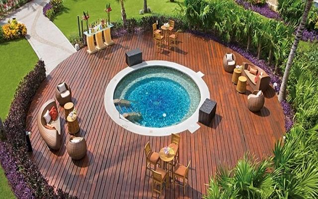 Hotel Dreams Riviera Cancún Resort and Spa, disfruta del jacuzzi al aire libre