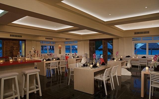 Hotel Dreams Sands Cancún Resort & Spa, buena propuesta gastronómica