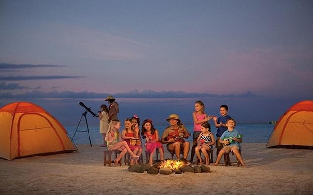 Hotel Dreams Sands Cancún Resort & Spa, club de niños
