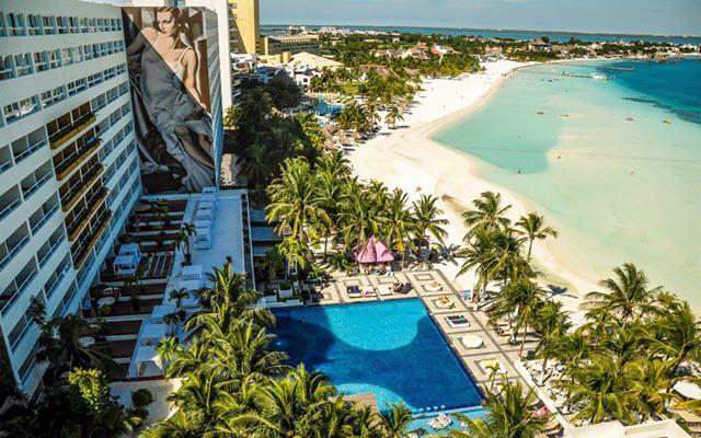 Hotel Dreams Sands Cancún Resort & Spa, buena ubicación