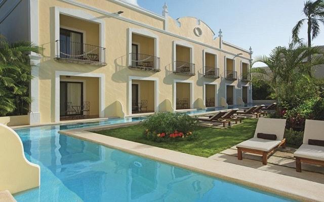 Hotel Dreams Tulum, habitaciones con acceso a la alberca