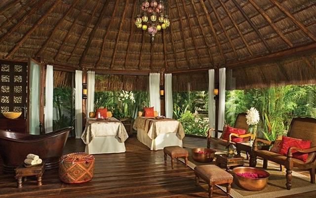 Hotel Dreams Tulum, permite que te consientan en el spa