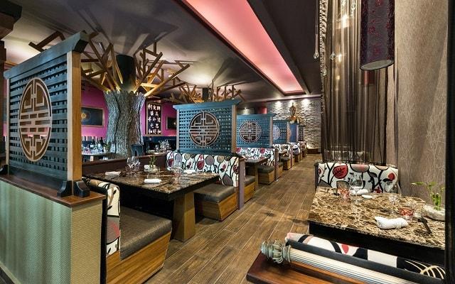 Hotel El Dorado Seaside Suite Infinity, By Karisma, prueba ricos menús de cocina internacional