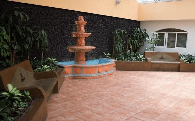 Hotel El Ejecutivo by Reforma Avenue, interior