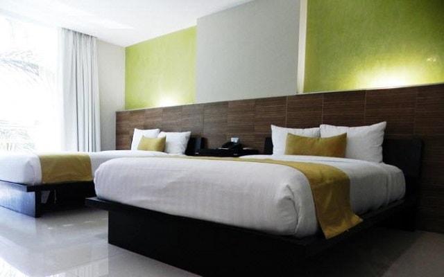 Hotel El Español Paseo de Montejo, habitaciones bien equipadas