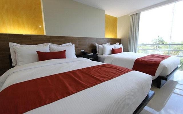 Hotel El Español Paseo de Montejo, amplias y luminosas habitaciones