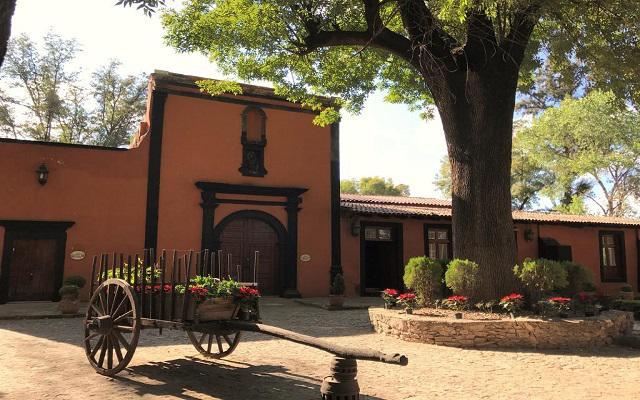 Hotel El Marqués Haciendaa, antigua construcción de la época de la colonia