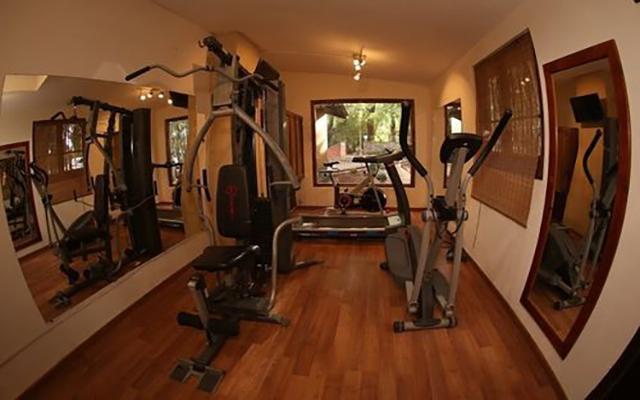 Hotel El Marqués Hacienda, gimnasio para uso exclusivo