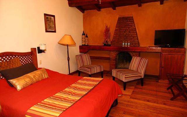 Hotel El Marqués Hacienda, habitaciones con todas las amenidades
