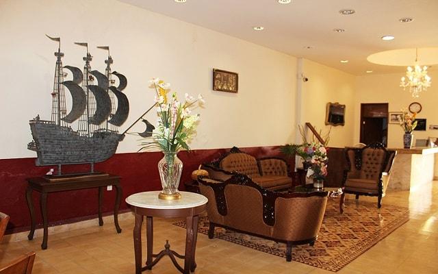Hotel El Navegante, cómodas instalaciones