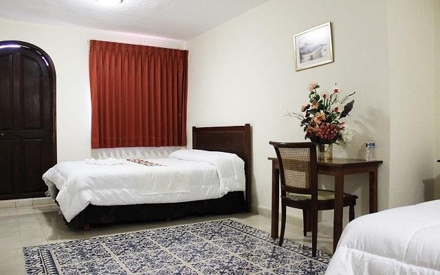 Hotel El Navegante, habitaciones bien equipadas