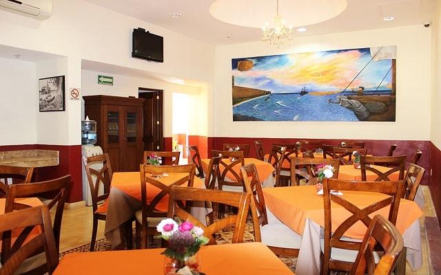 Hotel El Navegante, escenario ideal para tus alimentos