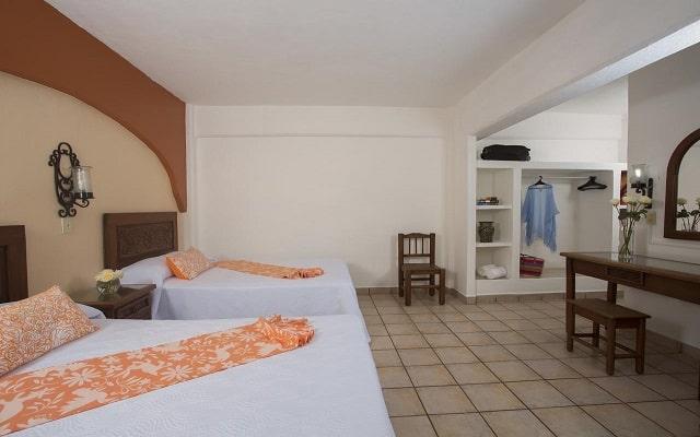 Hotel El Pescador Vallarta Centro, habitaciones cómodas