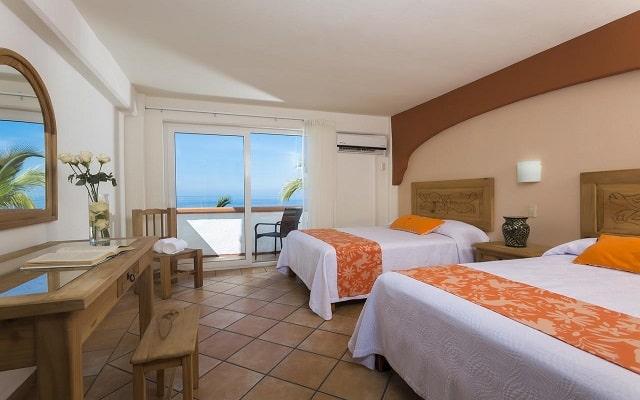 Hotel El Pescador Vallarta Centro, amplias y luminosas habitaciones