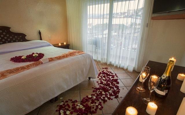 Hotel El Pescador Vallarta Centro, amenidades para lunamieleros