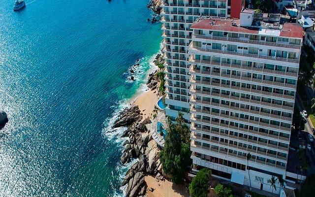 Hotel El Presidente Acapulco, a pie de playa
