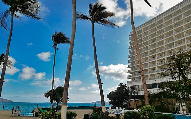 Hotel El Presidente Acapulco, amenidades en cada sitio
