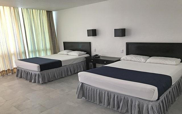 Hotel El Presidente Acapulco,amplias y cómodas habitaciones