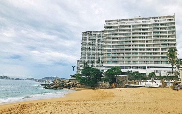 Hotel El Presidente Acapulco, buena ubicación