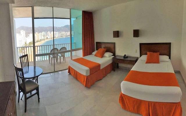 Hotel El Presidente Acapulco, habitaciones con todas las amenidades