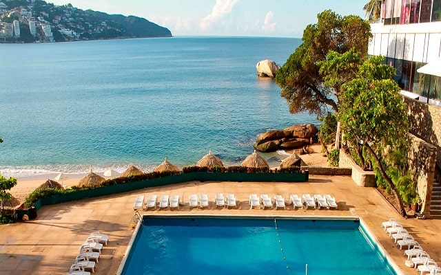 Hotel El Presidente Acapulco, hermosa vista de la bahía de Santa Lucia
