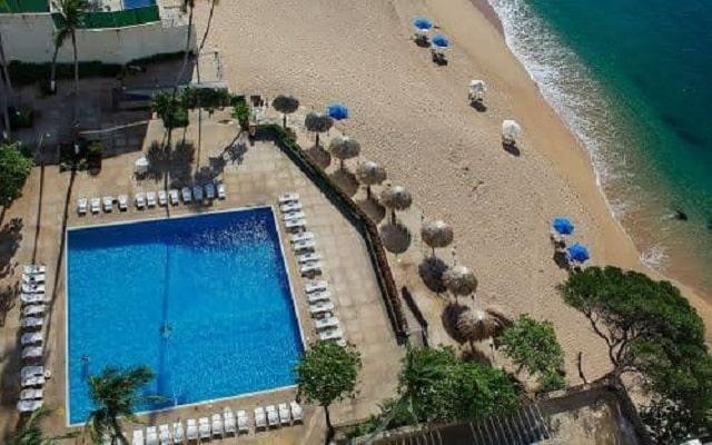 Hotel El Presidente Acapulco, vista aérea