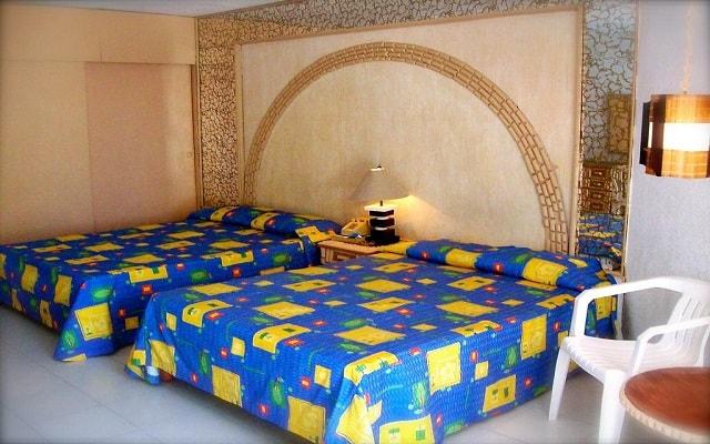 Hotel El Tropicano Acapulco, espacios diseñados para tu descanso