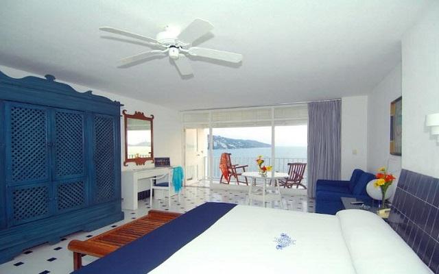 Hotel Elcano Acapulco, habitaciones con todas las amenidades