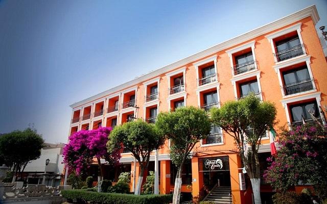 Hotel Emily en Pachuca