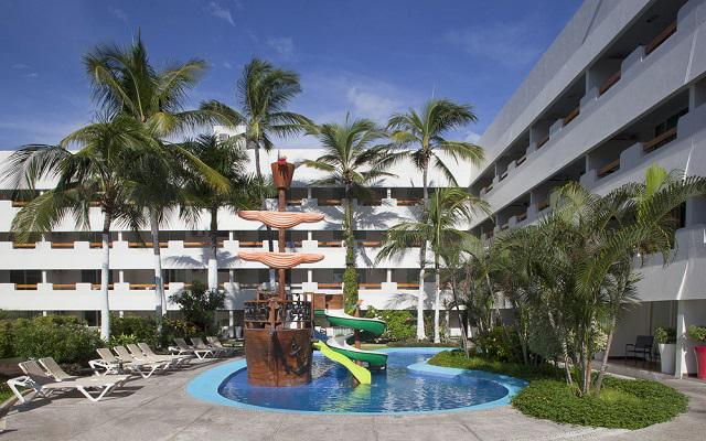 Hotel Emporio Mazatlán, parque acuático