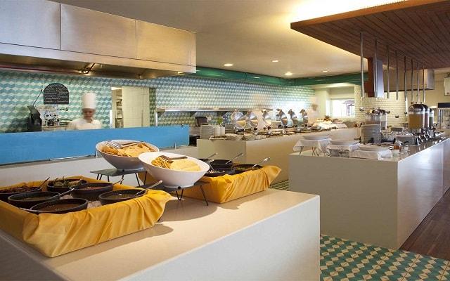 Hotel Emporio Mazatlán, variado menú para tus alimentos