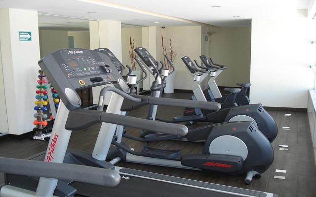Hotel Emporio Mazatlán, gimnasio bien equipado