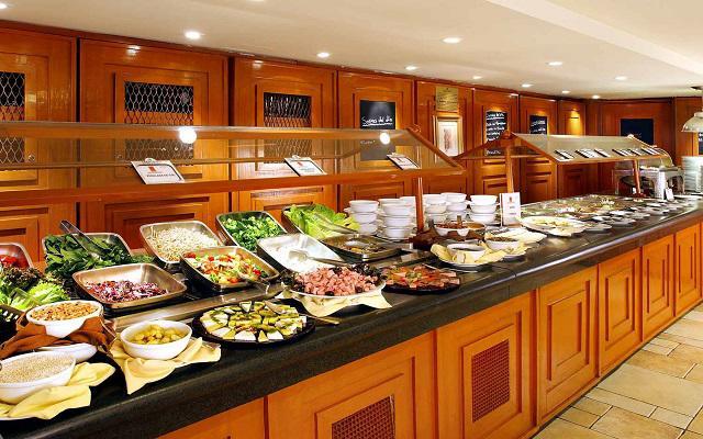 Hotel Emporio Reforma, variado menú para tus comidas