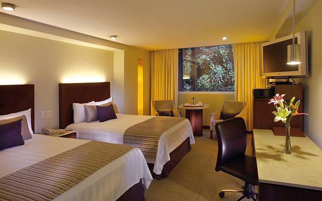 Hotel Emporio Reforma, habitaciones cómodas y confortables