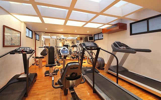 Hotel Emporio Reforma, gimnasio de uso exclusivo