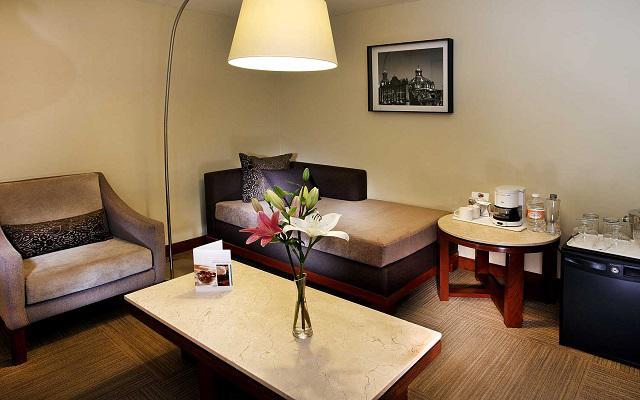 Hotel Emporio Reforma, amenidades de primera