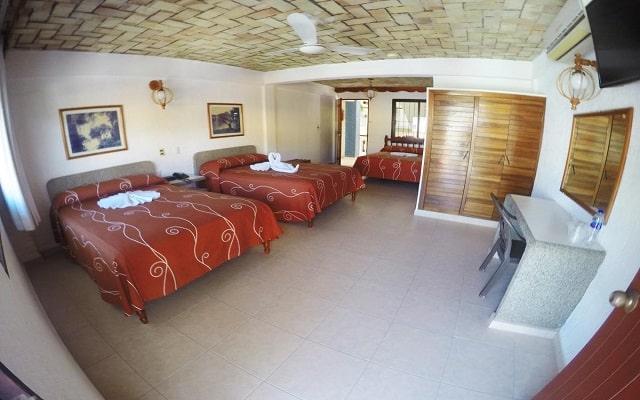 Hotel EMS Arcos Catemaco, confort en cada sitio