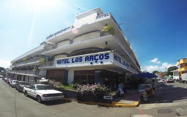 Hotel EMS Arcos Catemaco, buena ubicación