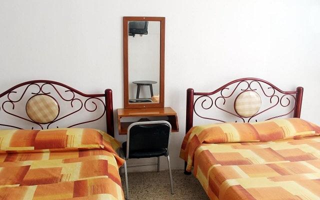 Hotel EMS Brisas, luminosas habitaciones