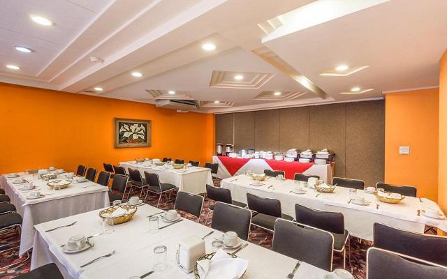 Hotel Estoril, espacios acondicionados para tu evento