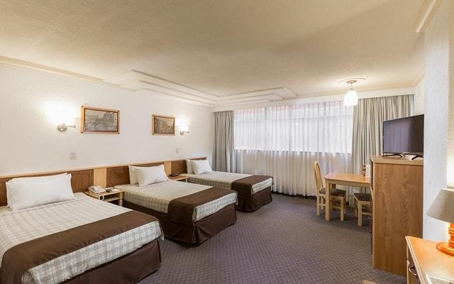 Hotel Estoril, habitaciones bien equipadas